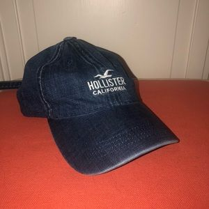 Hollister Denim Baseball Hat